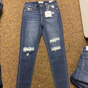 NWT Just Black Denim dark denim skinny jeans